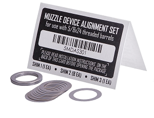 PWS 5/8x24 Muzzle Alignment Set